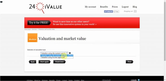 Valuation and market value