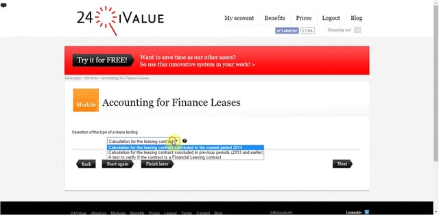 Accounting for Finance Leases